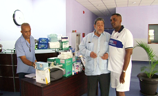 Neil Corke Donates Medical Supplies to Modern Medical Diagnostic Centre